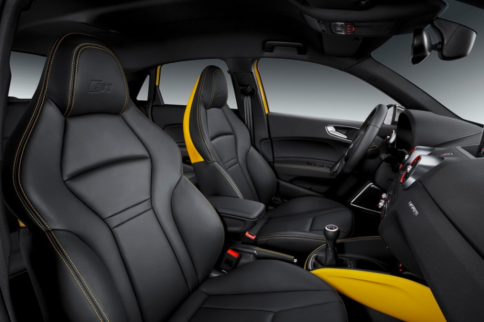 Audi S1 and S1 Sportback Yellow 17 Pictures